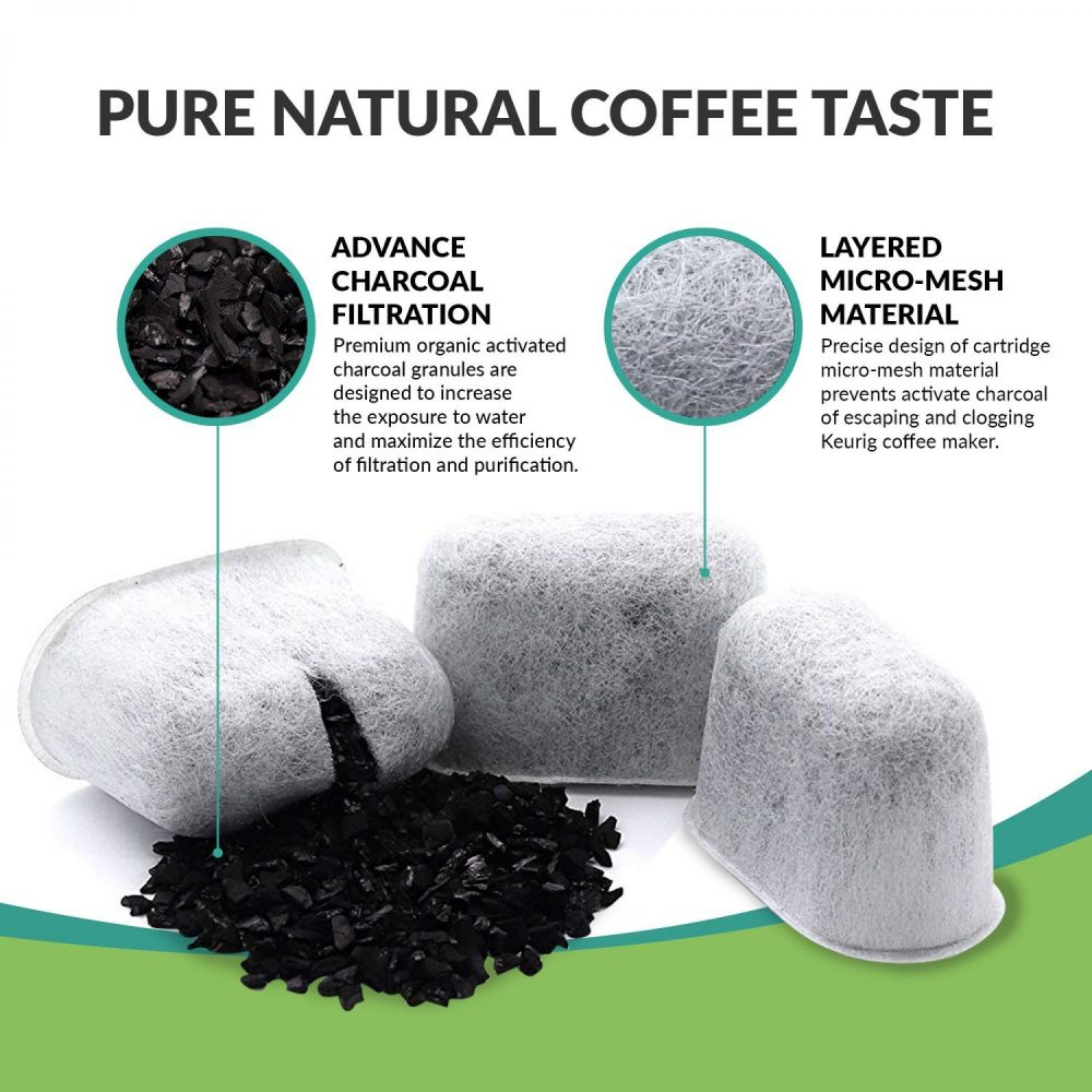 Keurig Compatible Activated Charcoal Water Purification