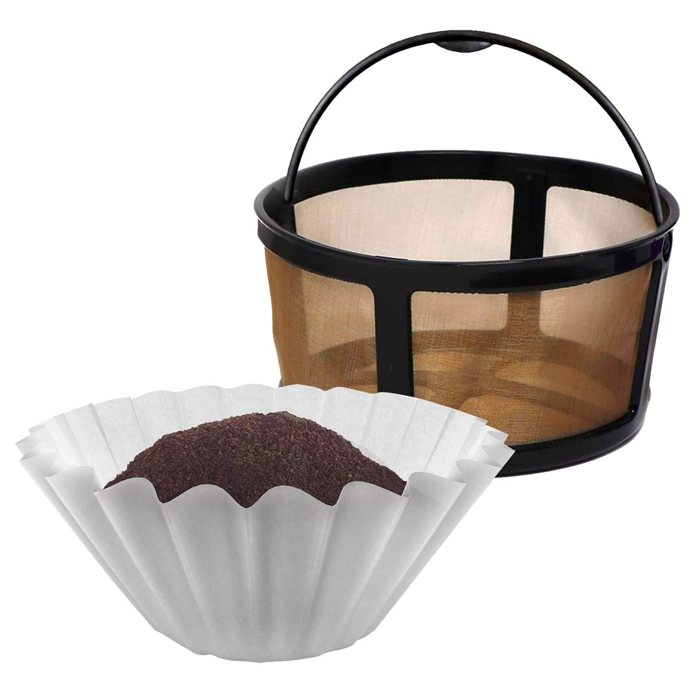 k duo mesh basket with paper filters