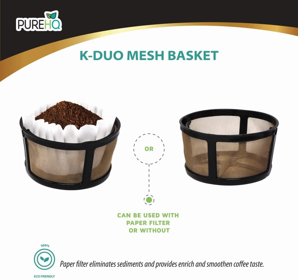 k-duo mesh with paper filter